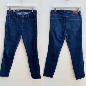 Madewell | Skinny Skinny Ankle Jeans 29